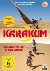 Karakum - Ein Abenteuer in der Wüste, 1 DVD (Director's Cut) Cover