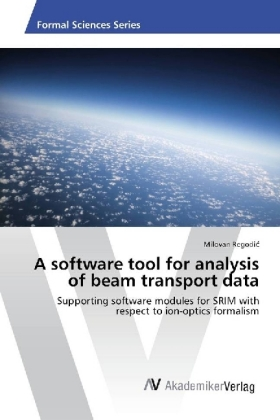 A software tool for analysis of beam transport data