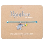 Armband - Rainbow Animals - Elefant Cover