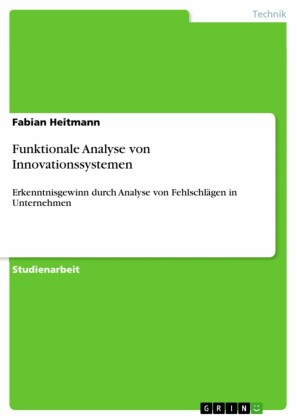 Funktionale Analyse von Innovationssystemen