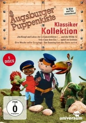 Augsburger Puppenkiste Klassiker Kollektion, 5 DVDs