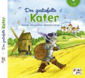 Der gestiefelte Kater, 1 Audio-CD Cover