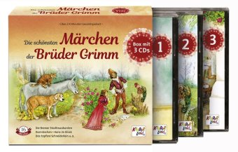 Die schönsten Märchen der Brüder Grimm, Audio-CD