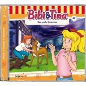 Bibi & Tina - Das große Unwetter, 1 Audio-CD Cover
