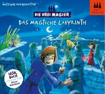 Die Drei Magier - Das magische Labyrinth, 2 Audio-CDs