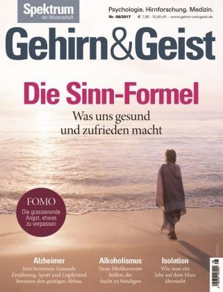 Gehirn&Geist 8/2017 -Die Sinn-Formel