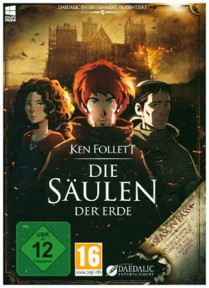 Ken Follett: Die Säulen der Erde, 1 DVD-ROM (Season Pass)