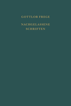 Nachgelassene Schriften und Wissenschaftlicher Briefwechsel
