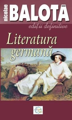 Literatura germana. De la Sturm-und-Drang la zilele noastre