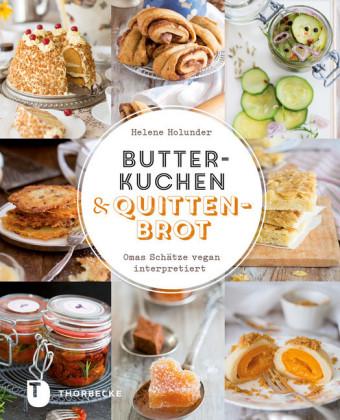 Butterkuchen und Quittenbrot
