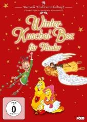 Winter-Kuschel-Box für Kinder, 3 DVD Cover