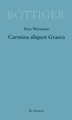 Carmina aliquot Graeca