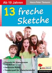 13 freche Sketche Cover