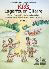 Kids Lagerfeuer-Gitarre, m. Audio-CD