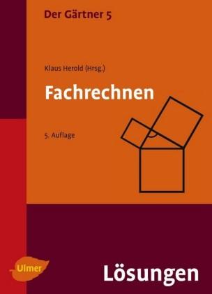 Der Gärtner 5. Fachrechnen.