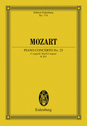 Piano Concerto No. 25 C major