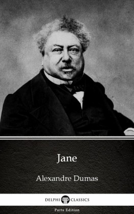 Jane by Alexandre Dumas (Illustrated)