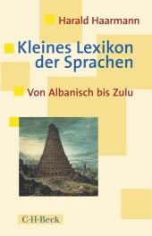 Kleines Lexikon der Sprachen