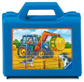 Fahrzeuge auf dem Bauernhof (Kinderpuzzle)