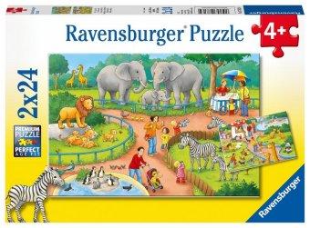 Ein Tag im Zoo (Kinderpuzzle)