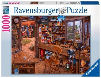 Opas Schuppen (Puzzle)