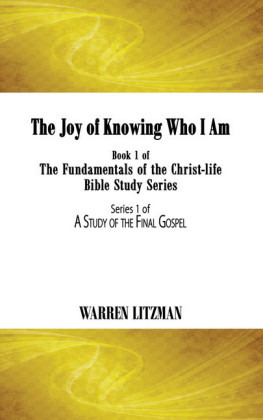 The Joy of Knowing Who I Am