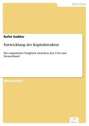 Entwicklung der Kapitalstruktur