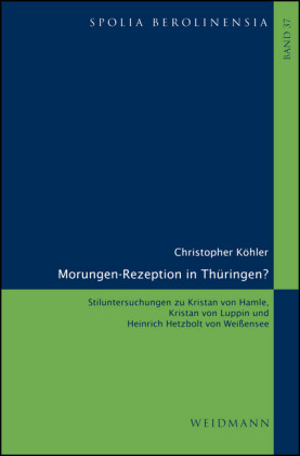 Morungen-Rezeption in Thüringen?