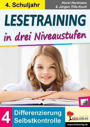 Lesetraining in drei Niveaustufen / Klasse 4