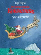Der kleine Drache Kokosnuss feiert Weihnachten Cover