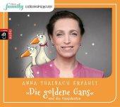 Eltern family Lieblingsmärchen - Die goldene Gans und die Gänsehirtin, 1 Audio-CD Cover