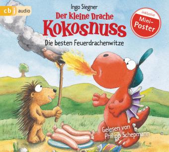 Der kleine Drache Kokosnuss - Die besten Feuerdrachenwitze, 1 Audio-CD