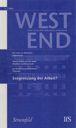 WestEnd 2005/2: Entgrenzung der Arbeit?