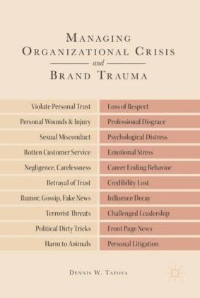 Managing Organizational Crisis and Brand Trauma