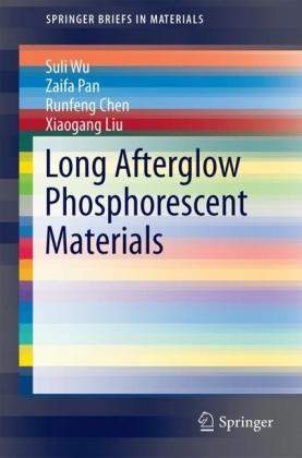 Long Afterglow Phosphorescent Materials