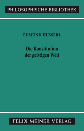 Die Konstitution der geistigen Welt