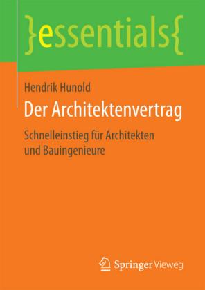Der Architektenvertrag