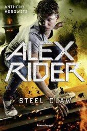 Alex Rider - Steel Claw Cover