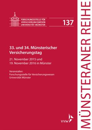 33. und 34. Münsterischer Versicherungstag