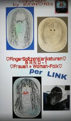 FingerTipCartoons BAND 1 - FRAUEN(WOMANFOLK)