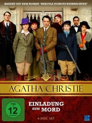 Agatha Christie - Einladung zum Mord, 4 DVDs
