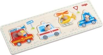 Greifpuzzle Einsatzfahrzeuge (Kinderpuzzle)