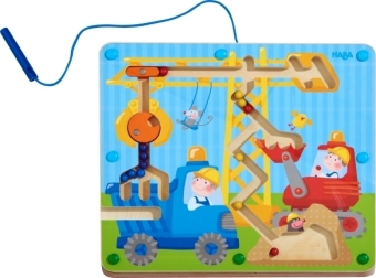 Magnetspiel Auf der Baustelle (Kinderspiel)