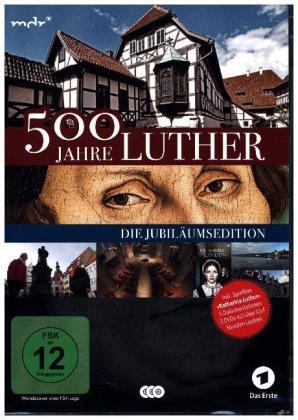 500 Jahre Luther - Die Jubiläumsedition, 3 DVD (Special Edition)