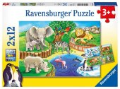 Tiere im Zoo (Kinderpuzzle)