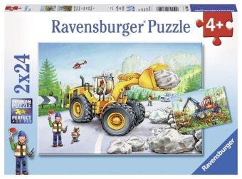 Bagger und Waldtraktor (Kinderpuzzle)