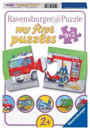 Einsatzfahrzeuge (Kinderpuzzle)