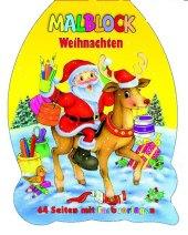 Malblock Weihnachten (Weihnachtmann)