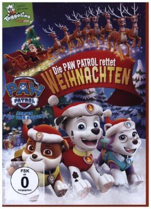 Paw Patrol: Die Paw Patrol rettet Weihnachten, 1 DVD