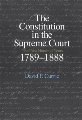 Constitution in the Supreme Court